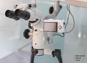 Soins sous Microscope Dentaire Marrakech